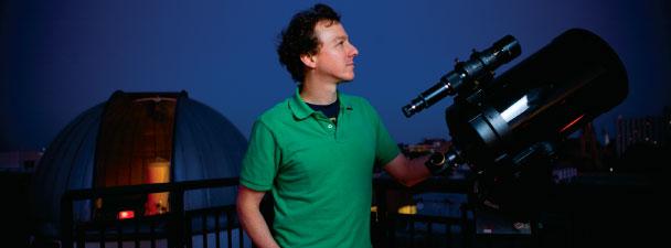 Joe Carson, physics and astronomy professor, College of Charleston