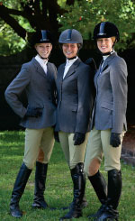 Equestrian riders for nationals, College of Charleston
