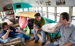Onboard the Hoobu, College of Charleston