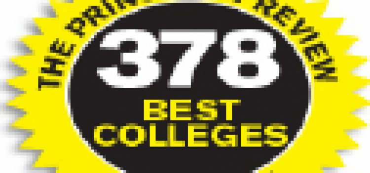 "College of Charleston Named a ""Best College"" by Princeton Review"