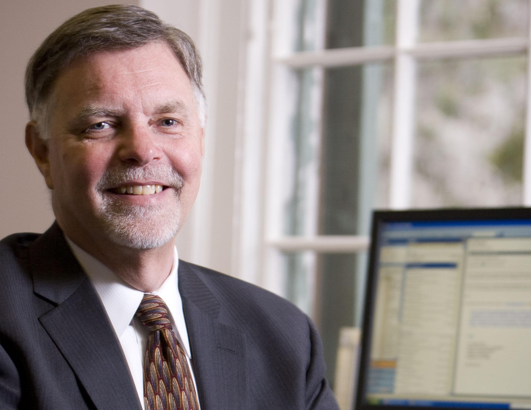 College of Charleston Provost George Hynd
