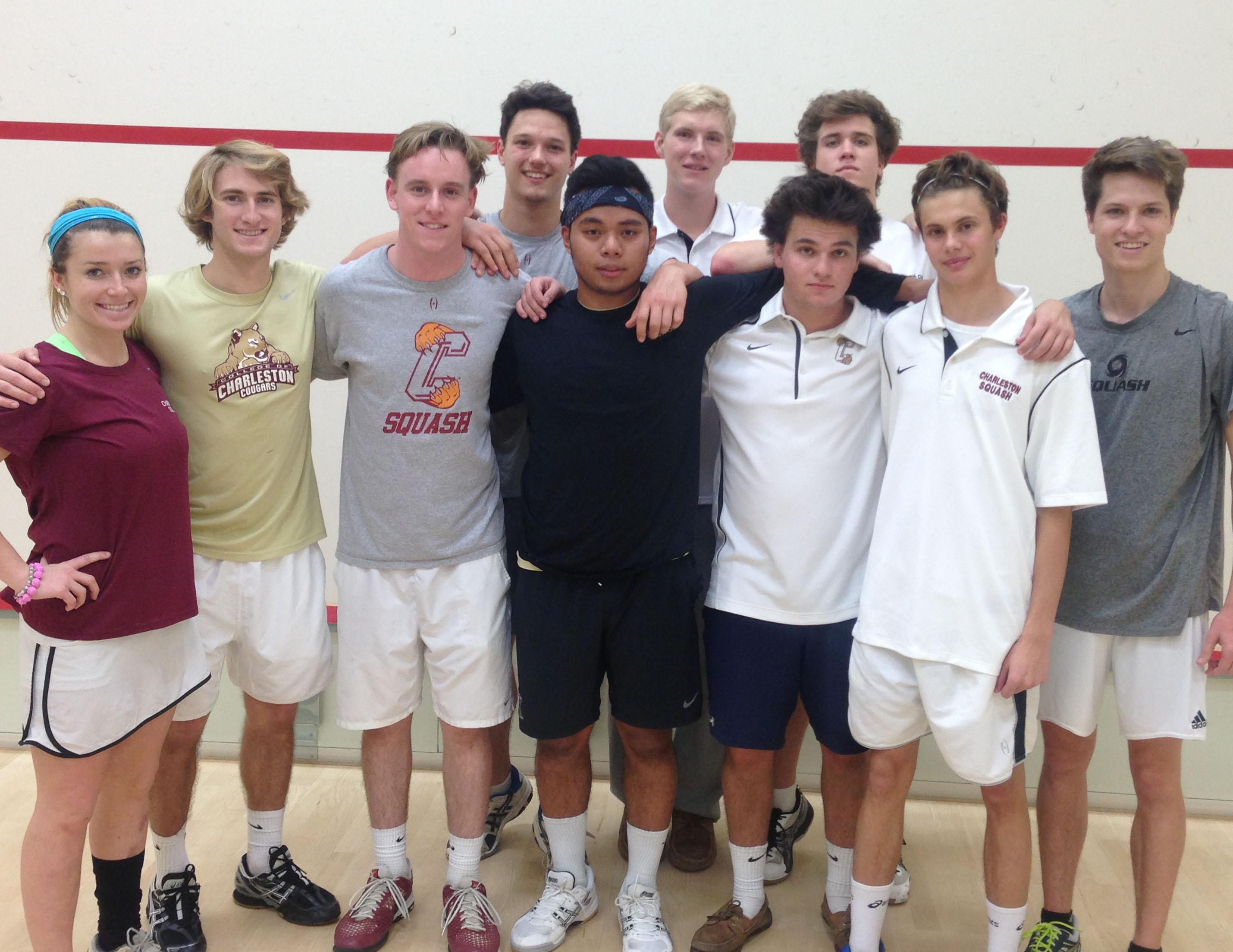 CofC Club Squash Team