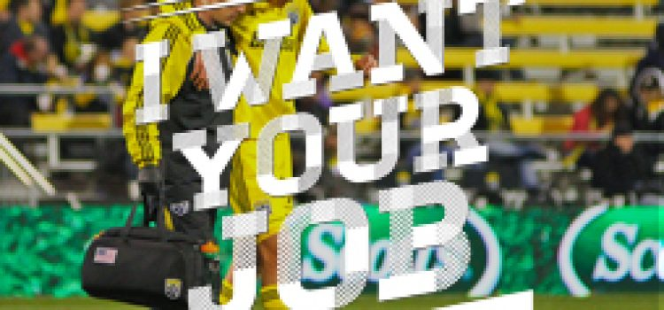 I Want Your Job: Athletic Trainer for Pro Soccer Team