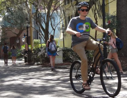 College of Charleston Bike Share Program Rolling Along