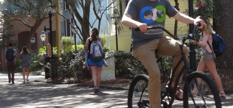 College of Charleston Bike Share Program Rolling Along