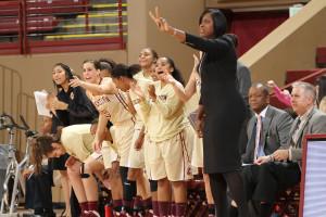 College of Charleston Women's Basketball Coach Natasha Adair