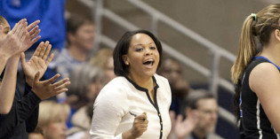 Q&A With New Women's Basketball Coach Candice M. Jackson