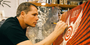 Halsey Exhibition Features Art of Shepard Fairey and Jasper Johns