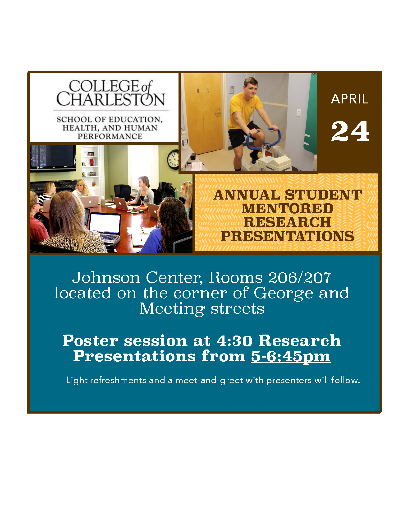 Students Present Research On Health And Human Performance