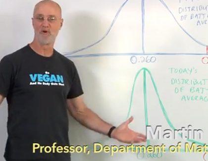 Math Professor Explains Why Pro Batting Averages Have Fallen