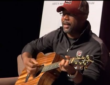 Darius Rucker Tells Students Song Became Hit Despite Cheesy Lyrics