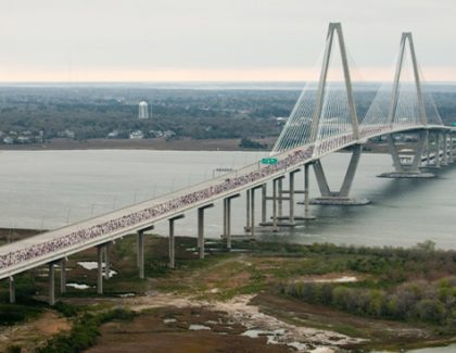 Running Partners: Cooper River Bridge Run and College of Charleston Go Way Back