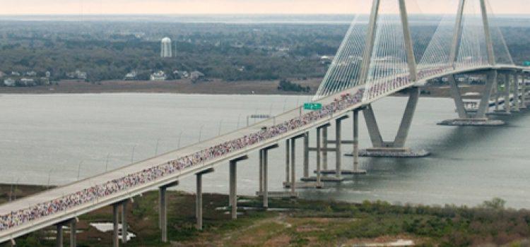 Running Partners: Cooper River Bridge Run and College of Charleston Go Way Back