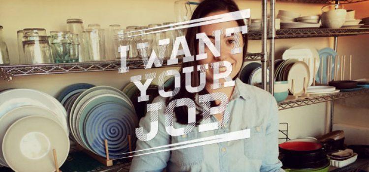 I Want Your Job: Cookbook Editor