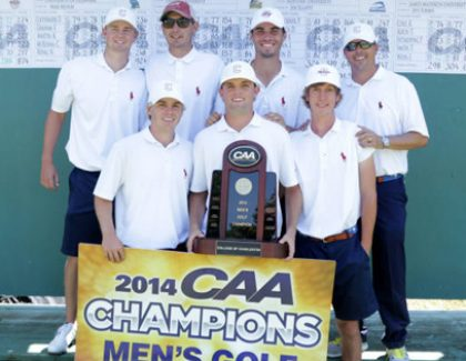 Men's Golf Captures CAA Championship and Bid to NCAA Tournament