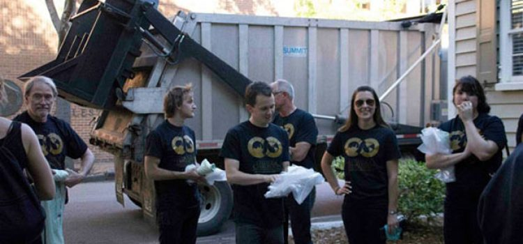 Sustainability: College of Charleston's Largest Event Produces Zero Waste