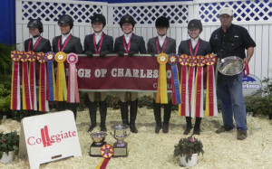College Of Charleston Equestrian Team Takes Second At