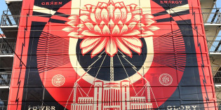 Video Shows Shepard Fairey at Work in Hometown