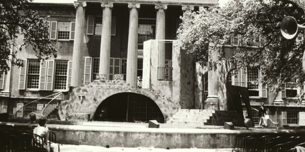 n 1936, part of Randolph Hall was converted for use in a production of Romeo and Juliet. The play was staged by the College's student-run production group, the Dramatic Society, which still exists today as Center Stage.