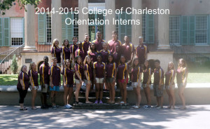 2014-2015 College Orientation Interns