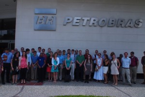 The MBA Class of 2014 visiting Petrobas in Brazil.