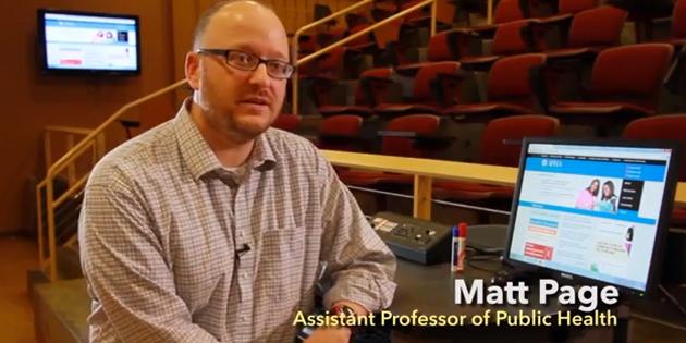 Matt Page public health featured