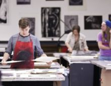 Printmaking Studio, Simons Center for the Arts