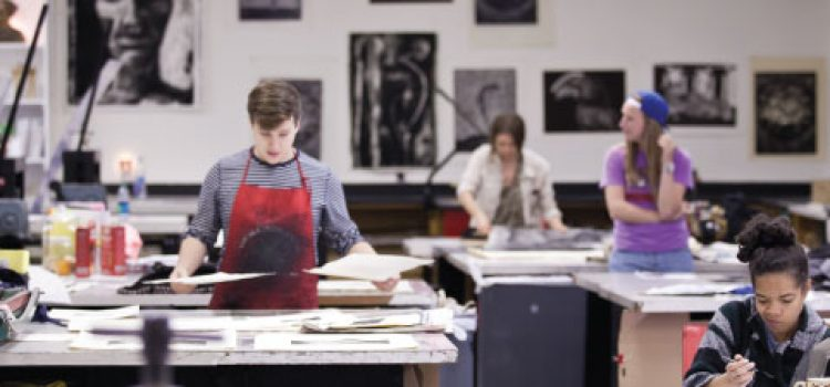 Printmaking Studio, Simons Center for the Arts