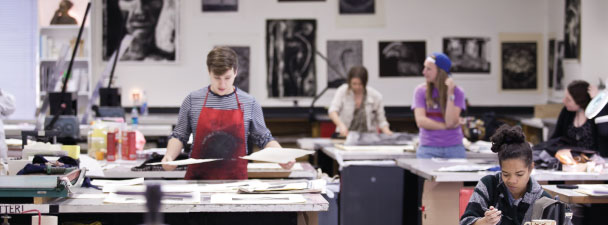 Printmaking Studio, College of Charleston