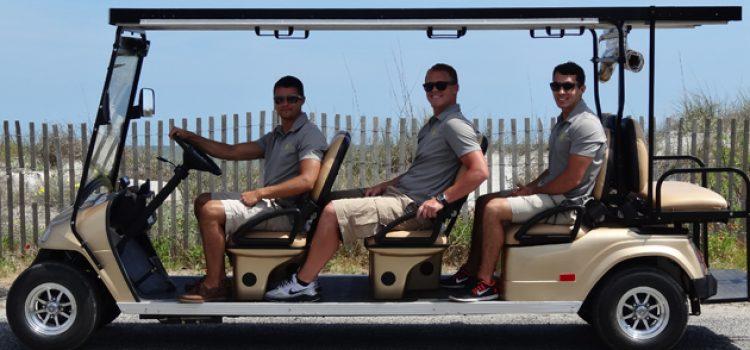 Alumni Harness Sun to Power Entrepreneurial Dream, Golf Cart Taxis