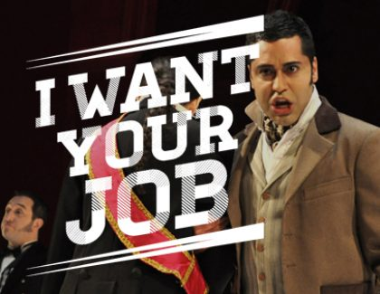 I Want Your Job: Internationally Touring Singer