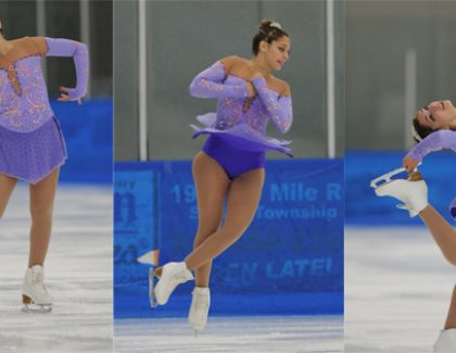 Figure Skating Club President Medals at National Competition