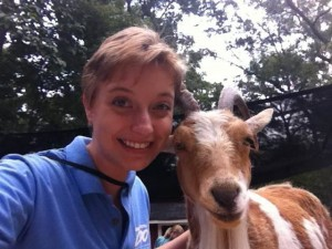 Amanda Gosine, Greenville Zoo intern