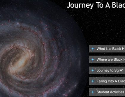Professor, Students Work as Team to Create Free Educational Black Holes App for iPad