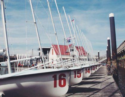 College of Charleston Sailing Program Director Greg Fisher Wins Lightning North American Championship
