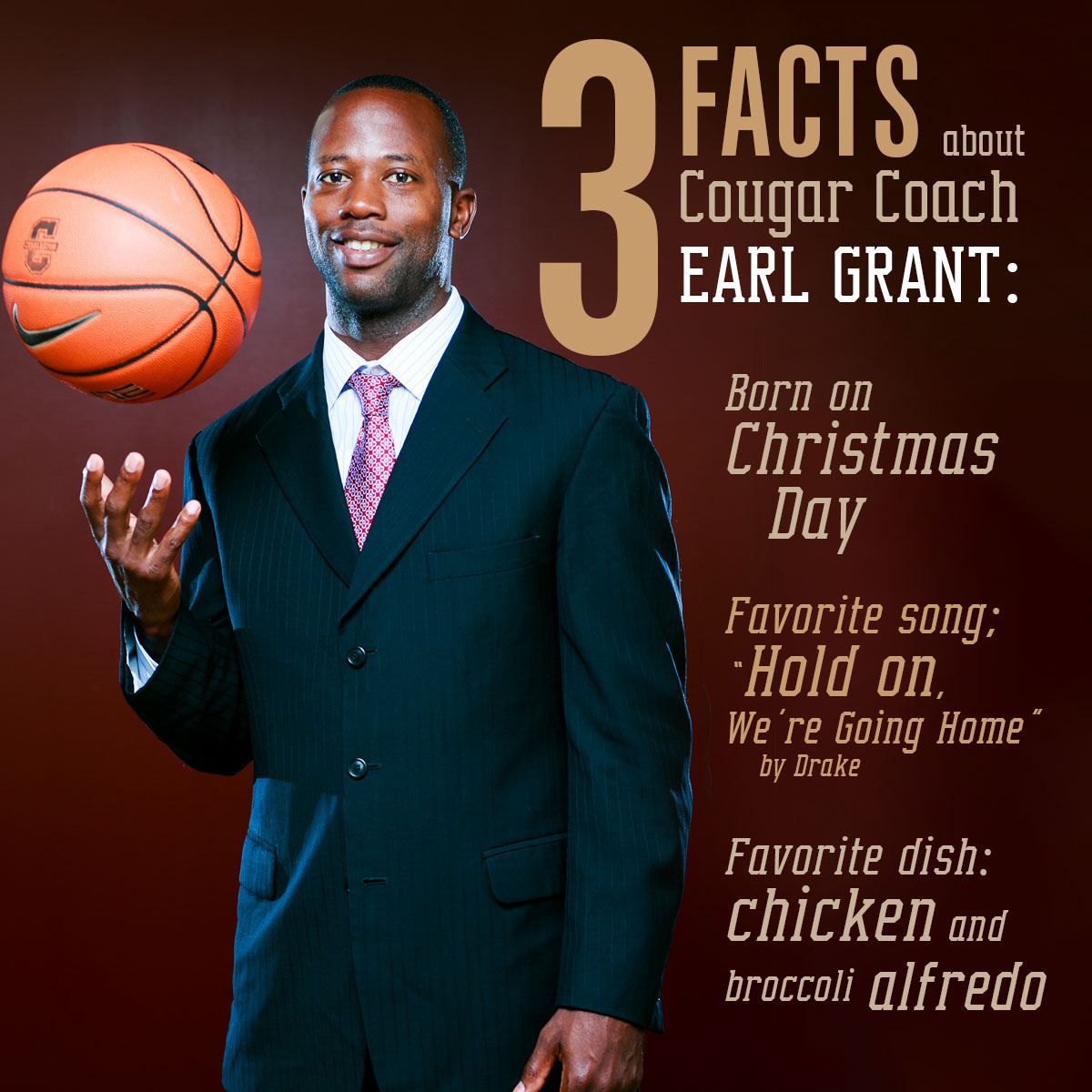8 Little Known Facts about Men's Basketball Coach Earl Grant - The College Today