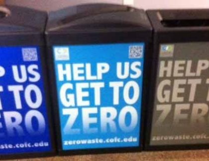 Sustainability: Zero Waste Event Kicks Off Academic Year