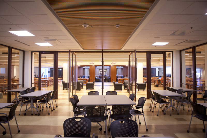 Addlestone Library Study Rooms