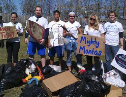 Students Dash for Trash in Charleston's Annual Litter Scavenger Hunt