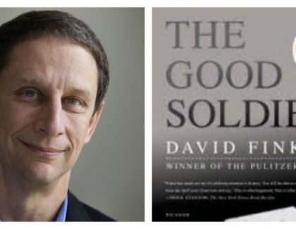 """The Good Soldiers"" Author David Finkel to Speak on Campus as Part of The College Reads!"