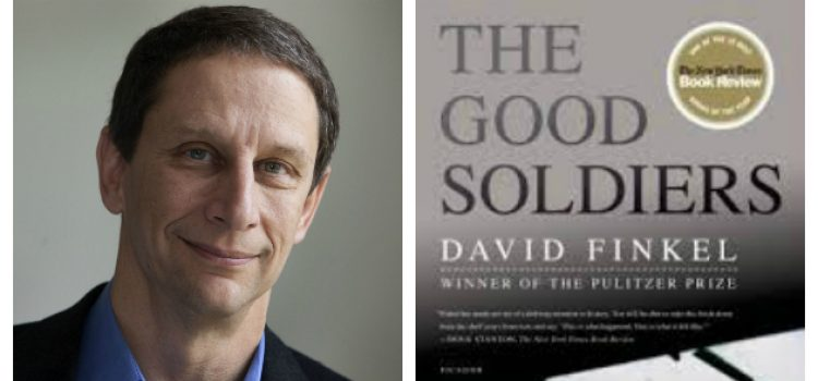 """""""The Good Soldiers"""" Author David Finkel to Speak on Campus as Part of The College Reads!"""