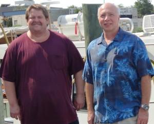 Peter Lee (left) and Jack DiTullio