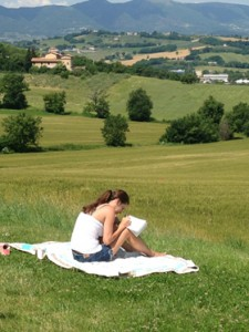 The creative writing program's study-abroad experience in Spoleto, Italy