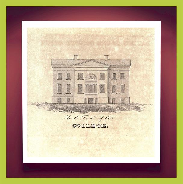 Boundless, Randolph Hall, 1828, College of Charleston