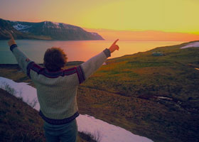 Study abroad in Iceland; photo provided by Nicholas Burns