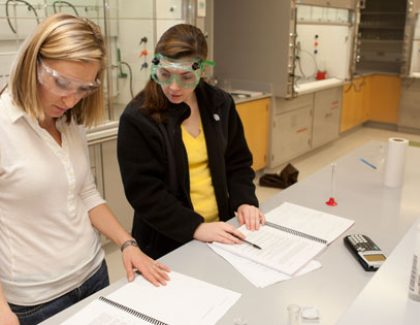 Department of Chemistry and Biochemistry a Prolific Producer of Student Research Opportunities