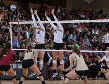 College is Host to CAA Volleyball Championship From Nov. 21-23