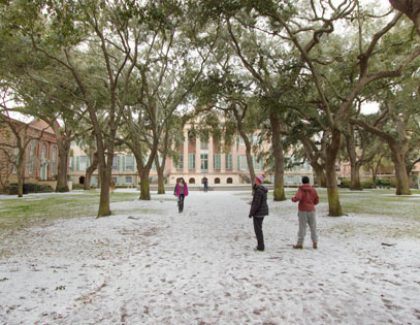 Ice Skating and More on Campus for Winter Wonderland Event