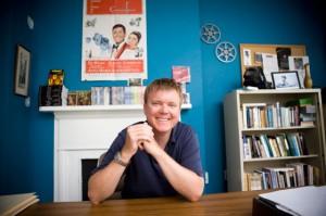 John Bruns, English Professor and Director of the Film Studies Program at the College of Charleston