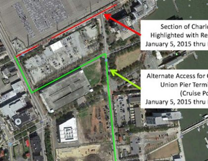 Charlotte St. Near Harbor Walk Campus is Closed Through March 13